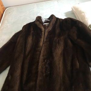 Saga mink coat 3/4 length